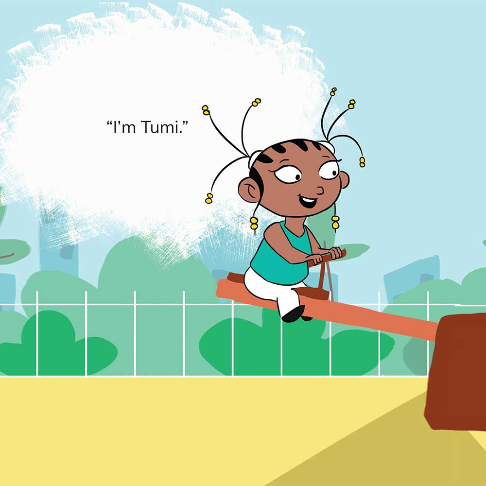 Free Kids 5 min story - Tumi Goes to the Park - page 14