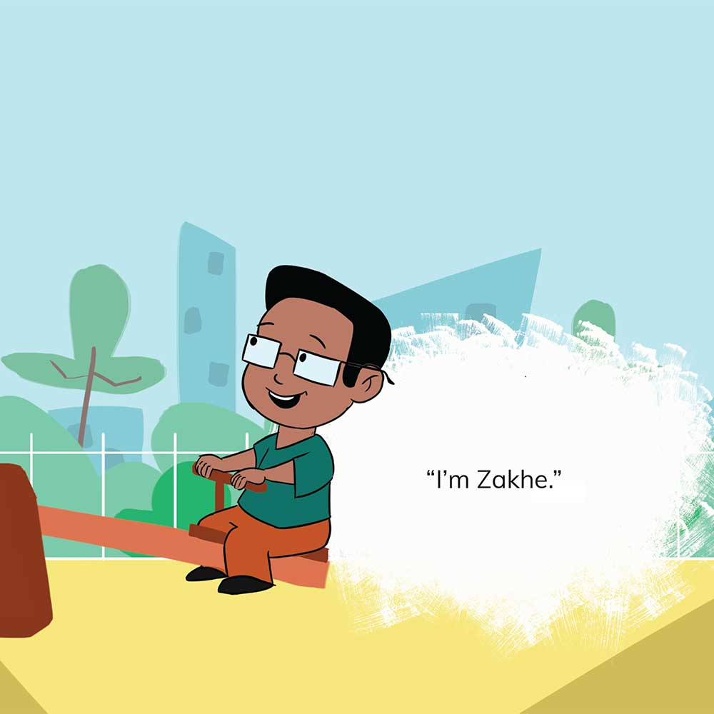 Free Kids 5 min story - Tumi Goes to the Park - page 15