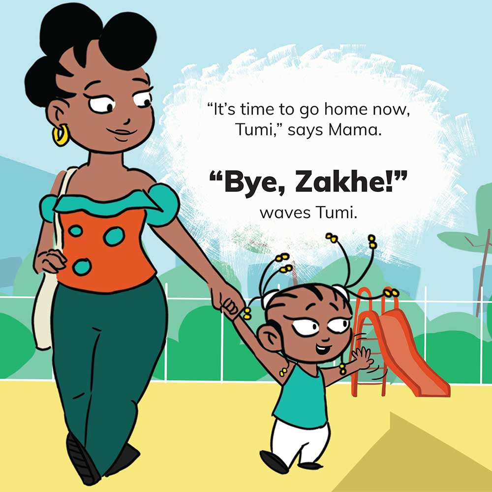 Free Kids 5 min story - Tumi Goes to the Park - page 22