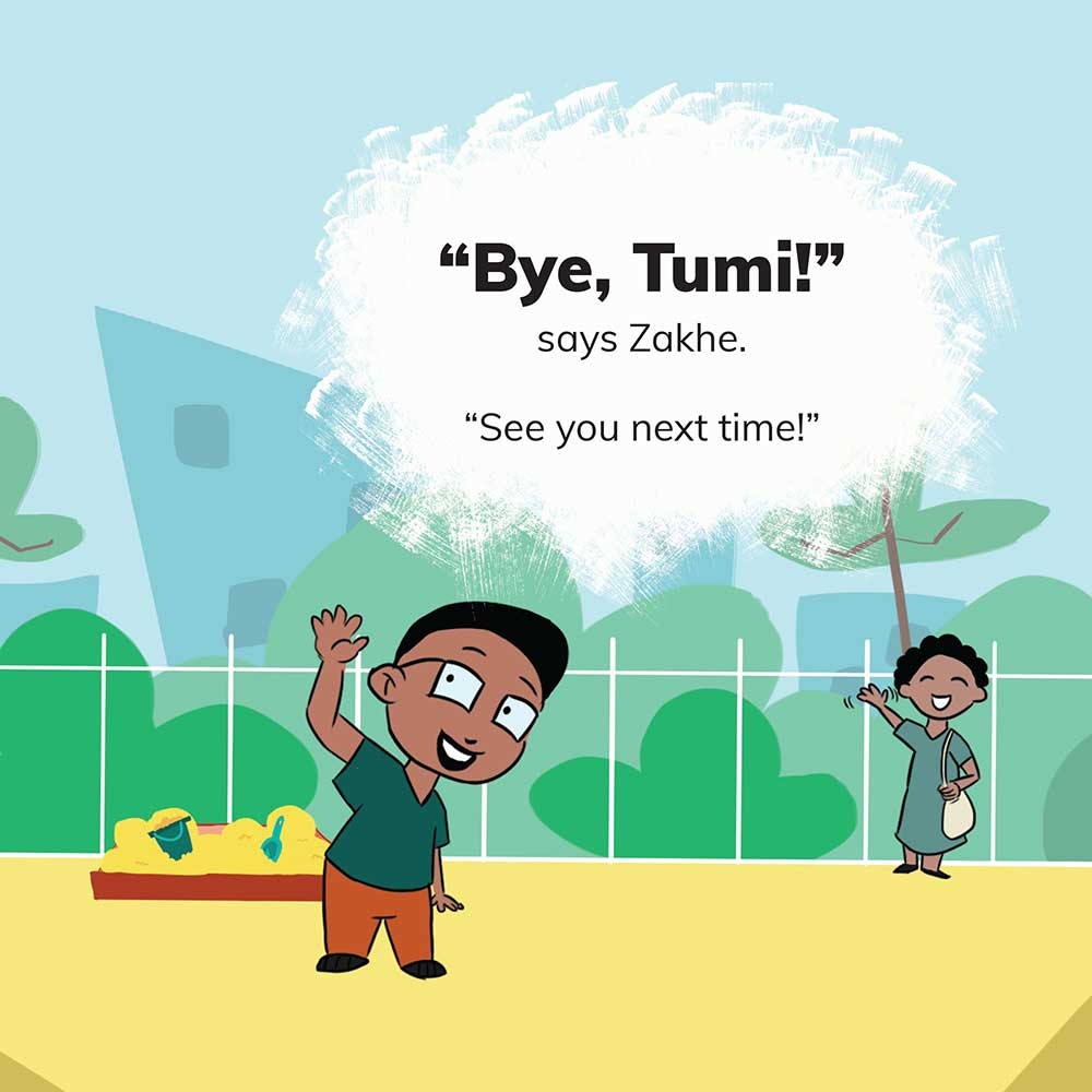 Free Kids 5 min story - Tumi Goes to the Park - page 23