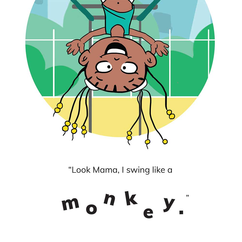 Free Kids 5 min story - Tumi Goes to the Park - page 9