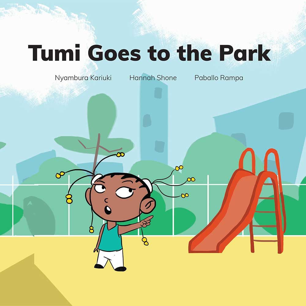 Free Kids 5 min story - Tumi Goes to the Park - Book cover