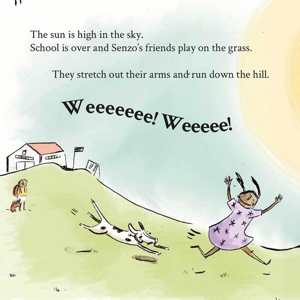Free Kids Book Senzo and the Sun page 10