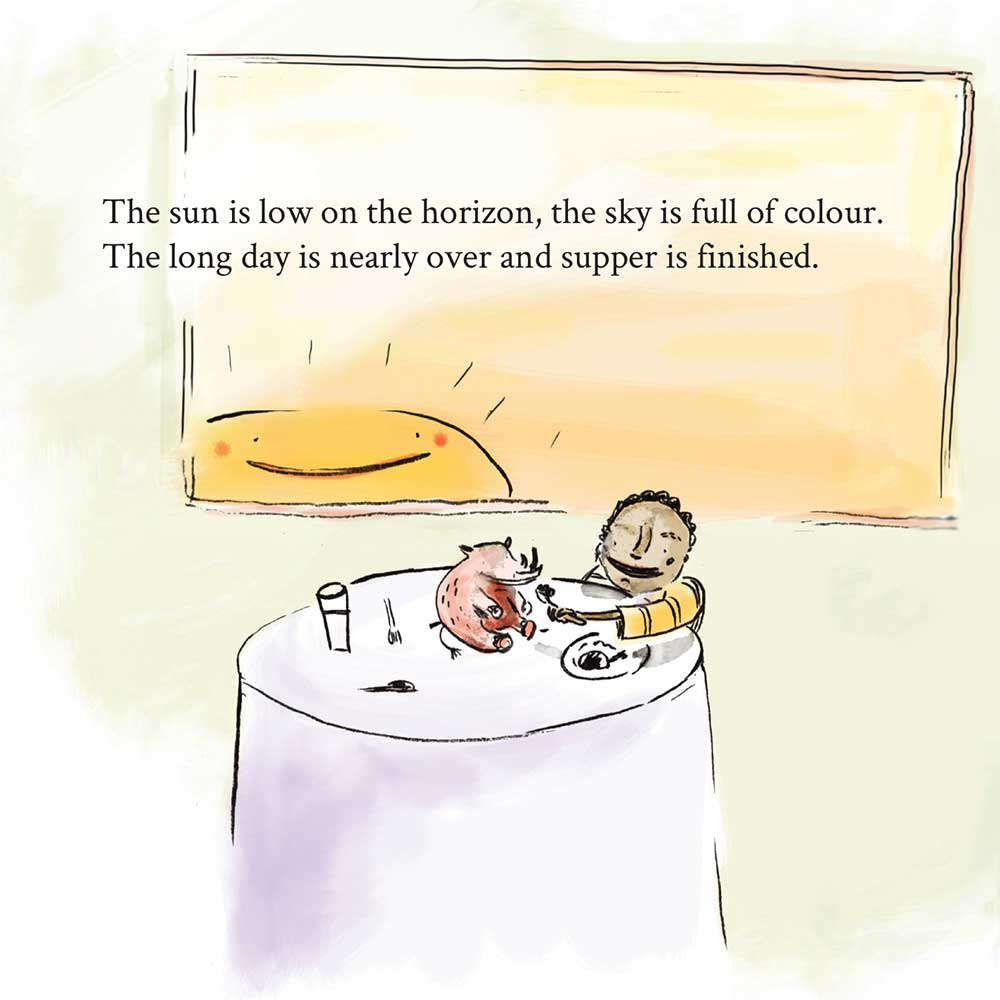 Free Kids Book Senzo and the Sun page 14