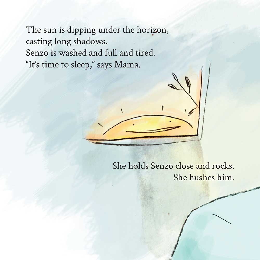 Free Kids Book Senzo and the Sun page 18