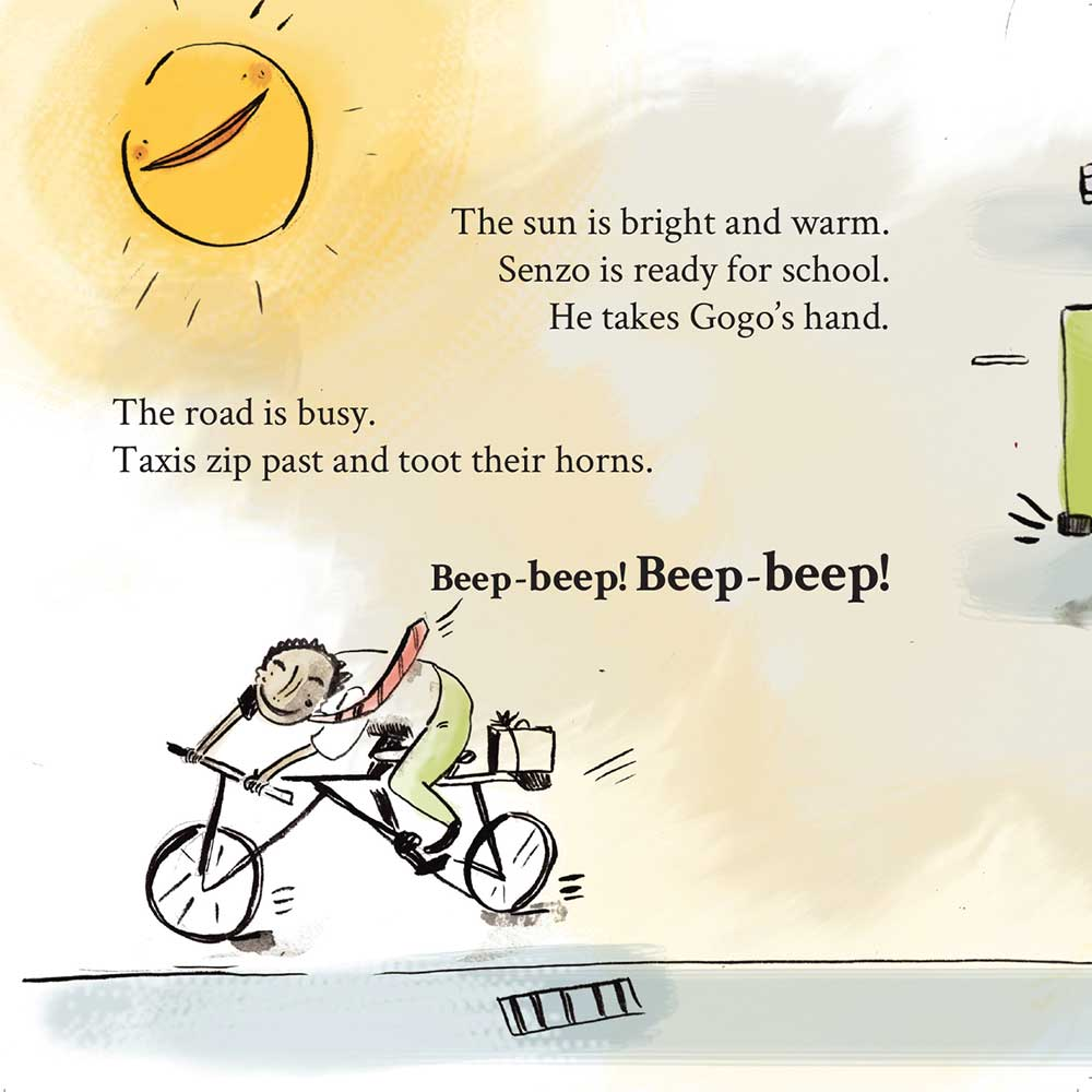 Free Kids Book Senzo and the Sun page 6