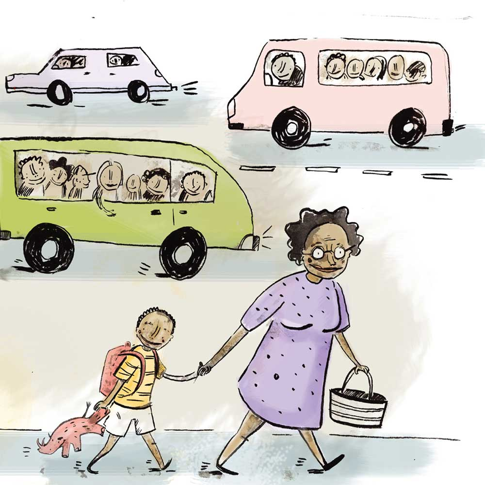 Free Kids Book Senzo and the Sun page 7