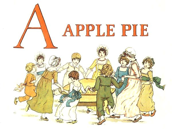Vintage books Kids Learn To Read A Apple Pie Letter A
