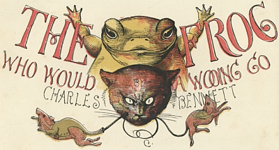 The Frog Who Would A-Wooing Go Cover