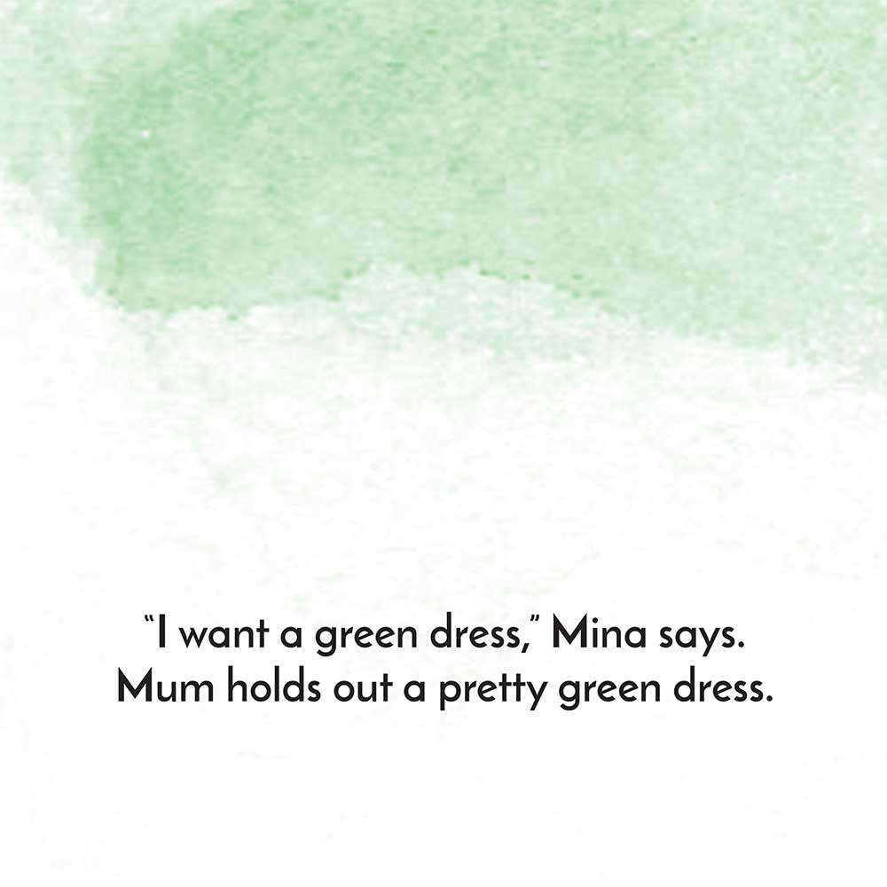 Mina and the birthday dress free kids story page 15