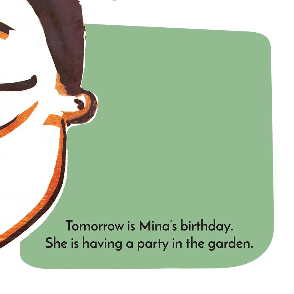 Mina and the birthday dress free kids story page 4