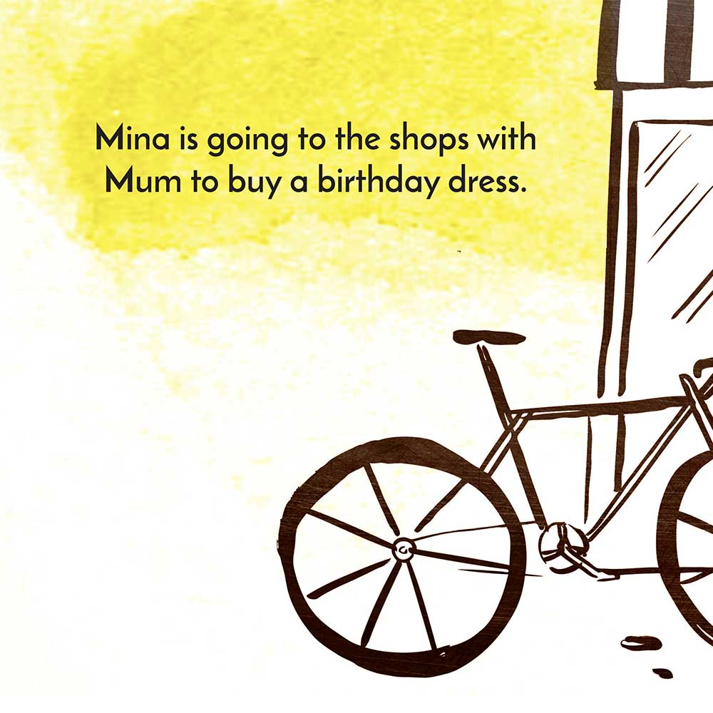 Mina and the birthday dress free kids story page 5