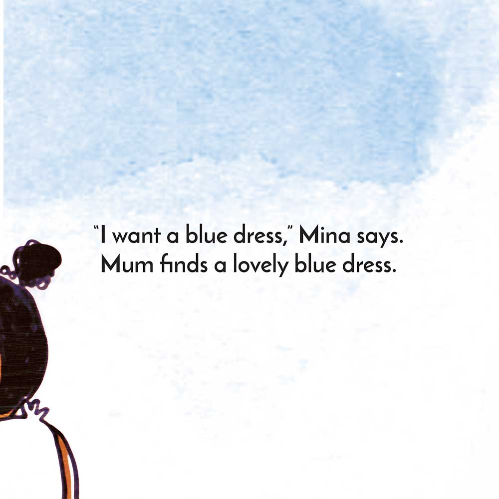 Mina and the birthday dress free kids story page 8