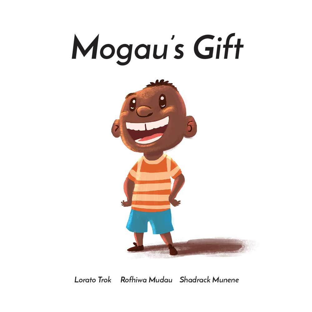 Mogau's gift free picture book title page