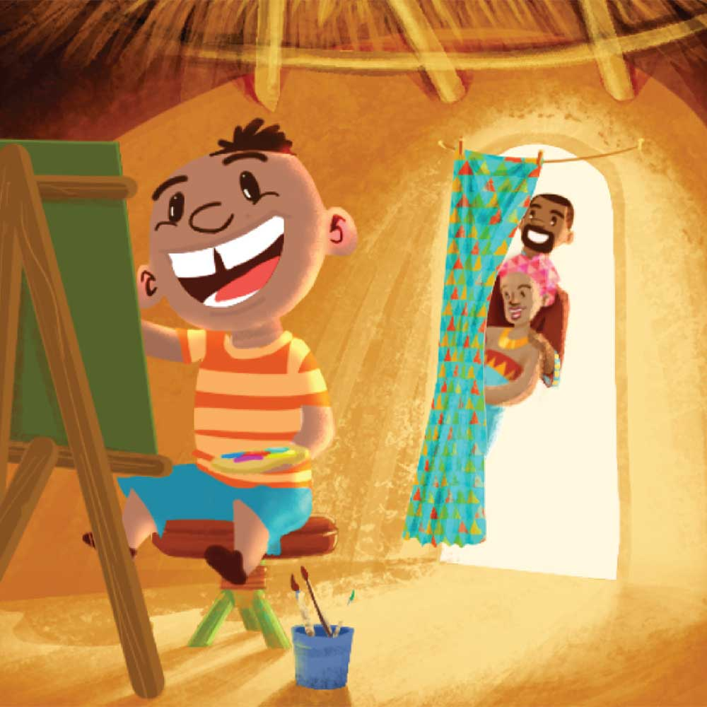 Mogau's gift free picture book page 11