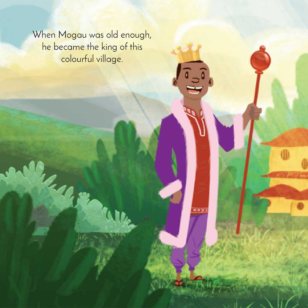 Mogau's gift free picture book page 24