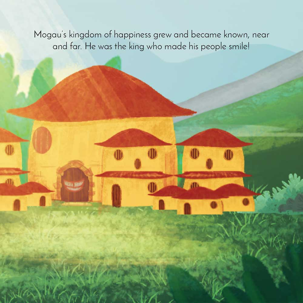 Mogau's gift free picture book page 25
