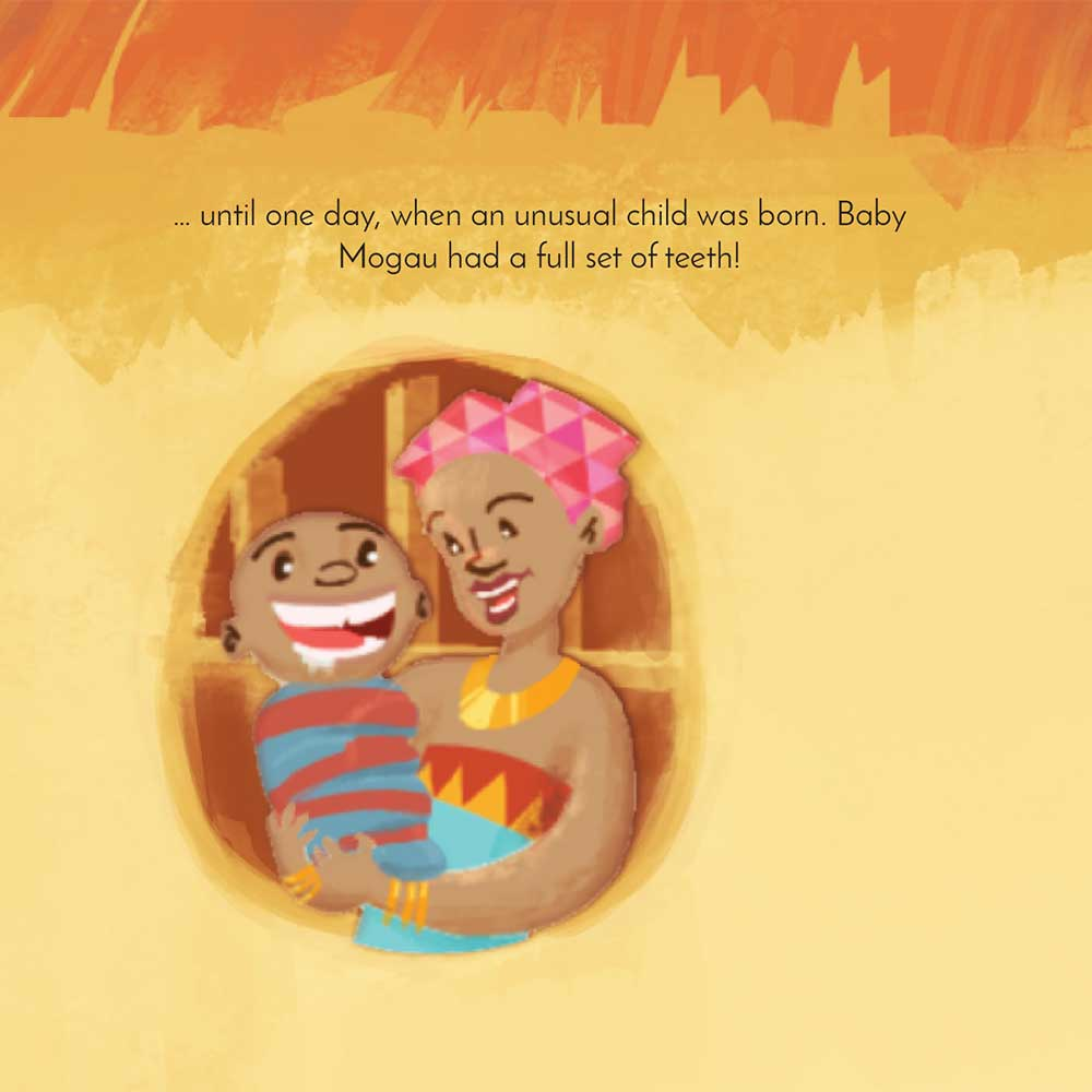 Mogau's gift free picture book page 4