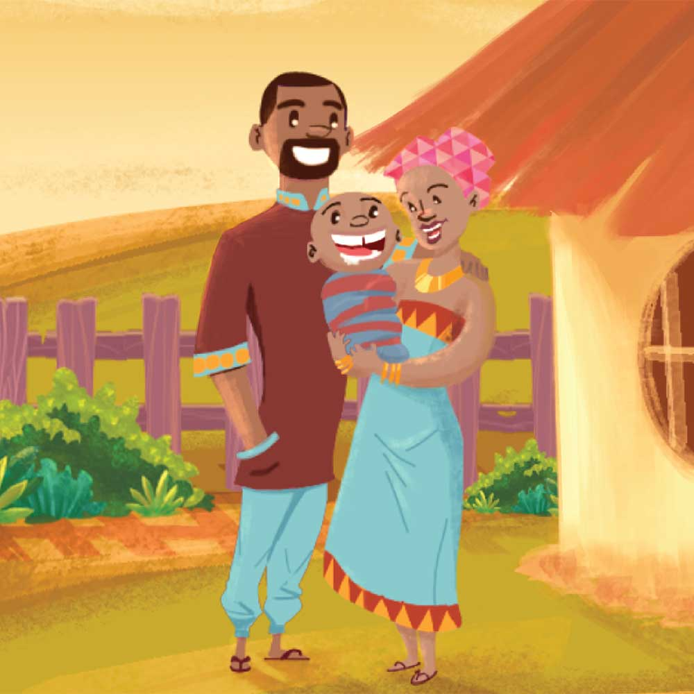 Mogau's gift free picture book page 6