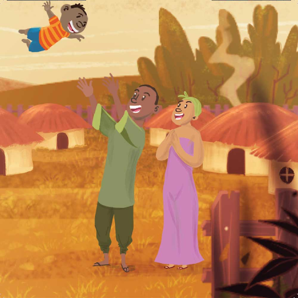 Mogau's gift free picture book page 9