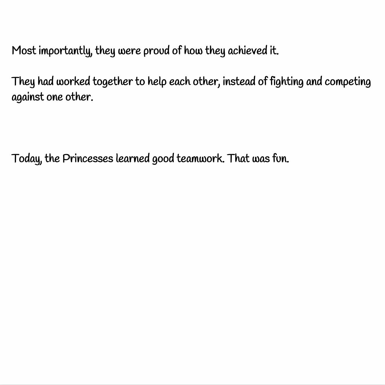 The Princess Files Series Teamwork page 19