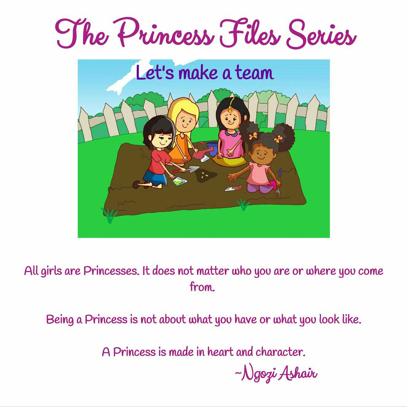 The Princess Files Series Teamwork page 2
