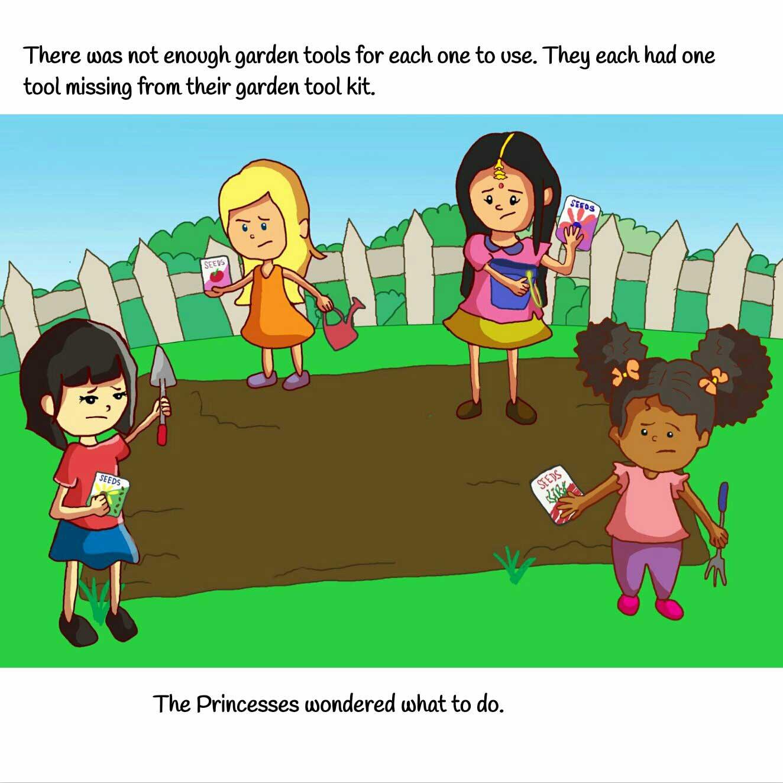 The Princess Files Series Teamwork page 8