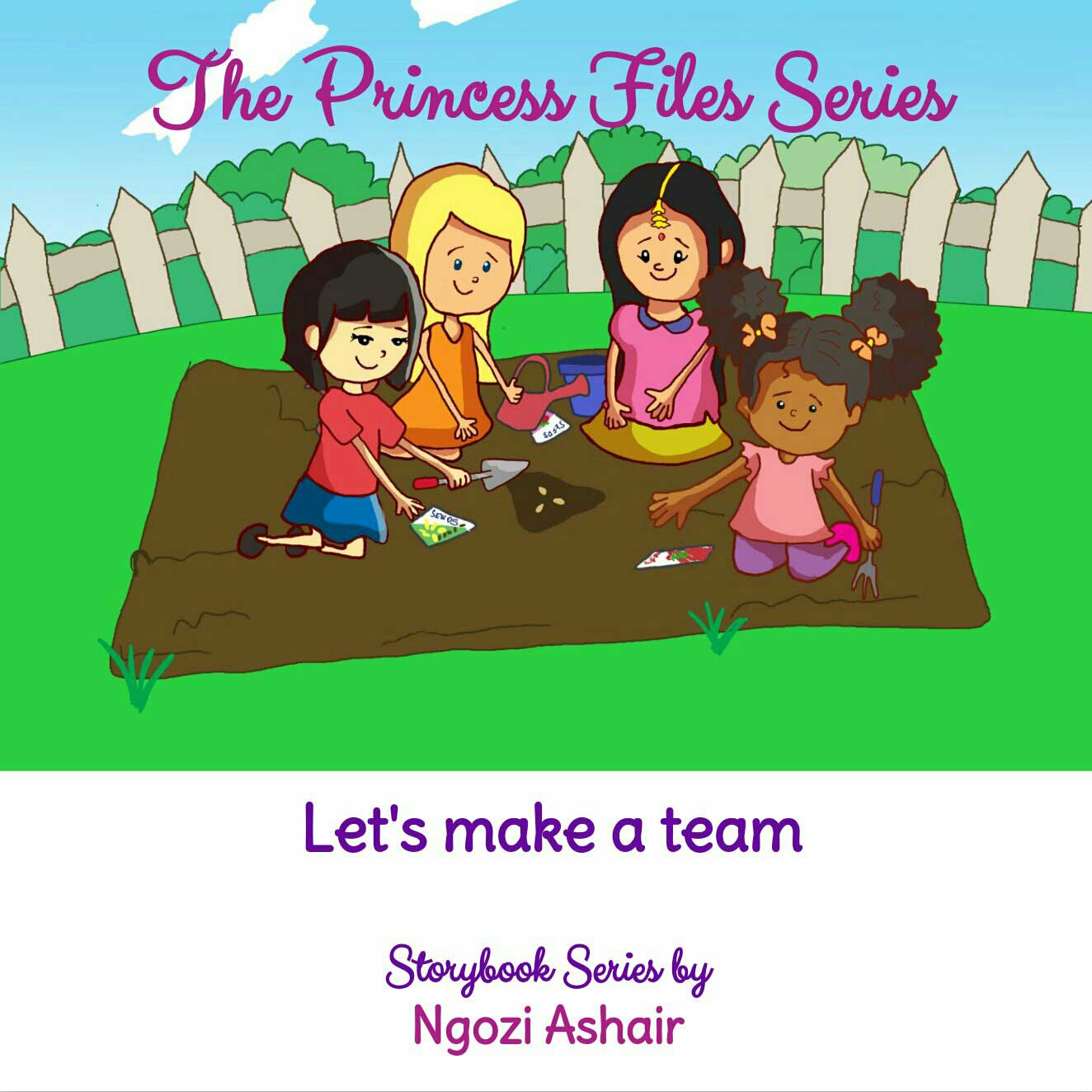 The Princess Files Series Teamwork page 1