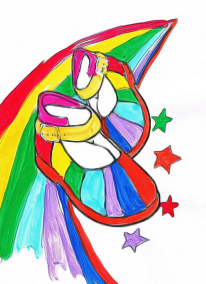 Tilly's Rainbow Shoes Kids Story illustration 2