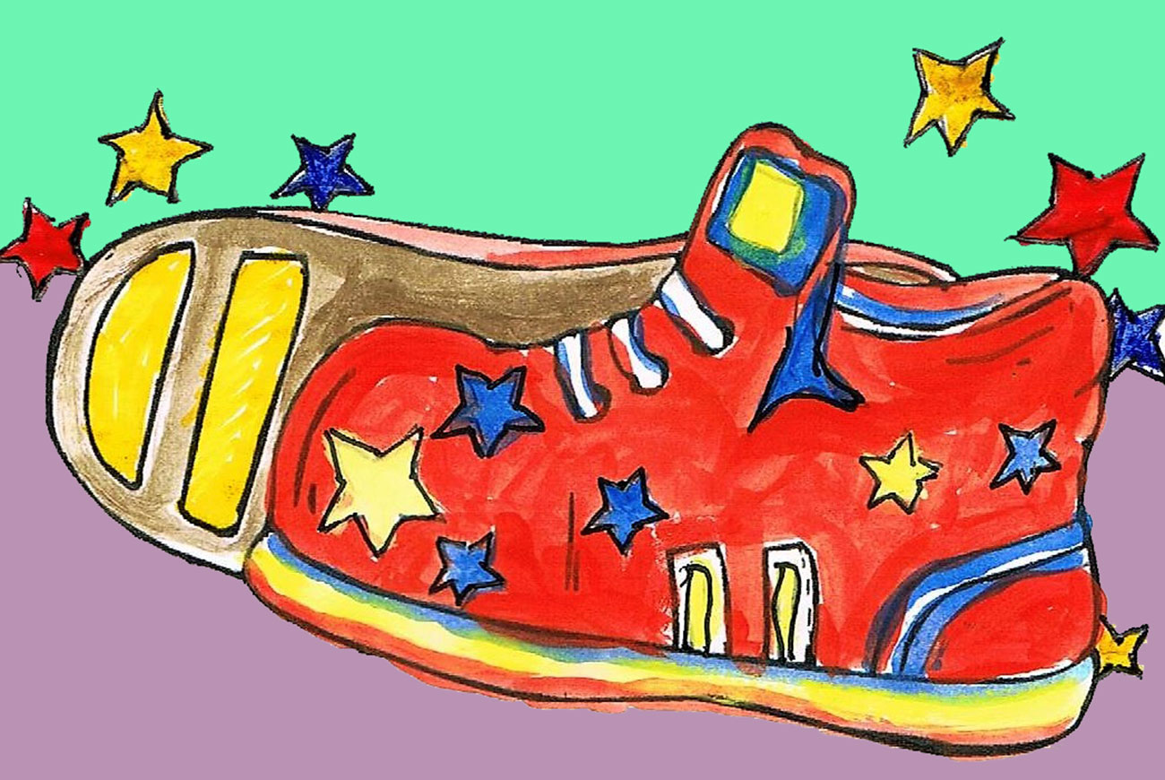 Tilly's Rainbow Shoes Kids Story - illustration 3