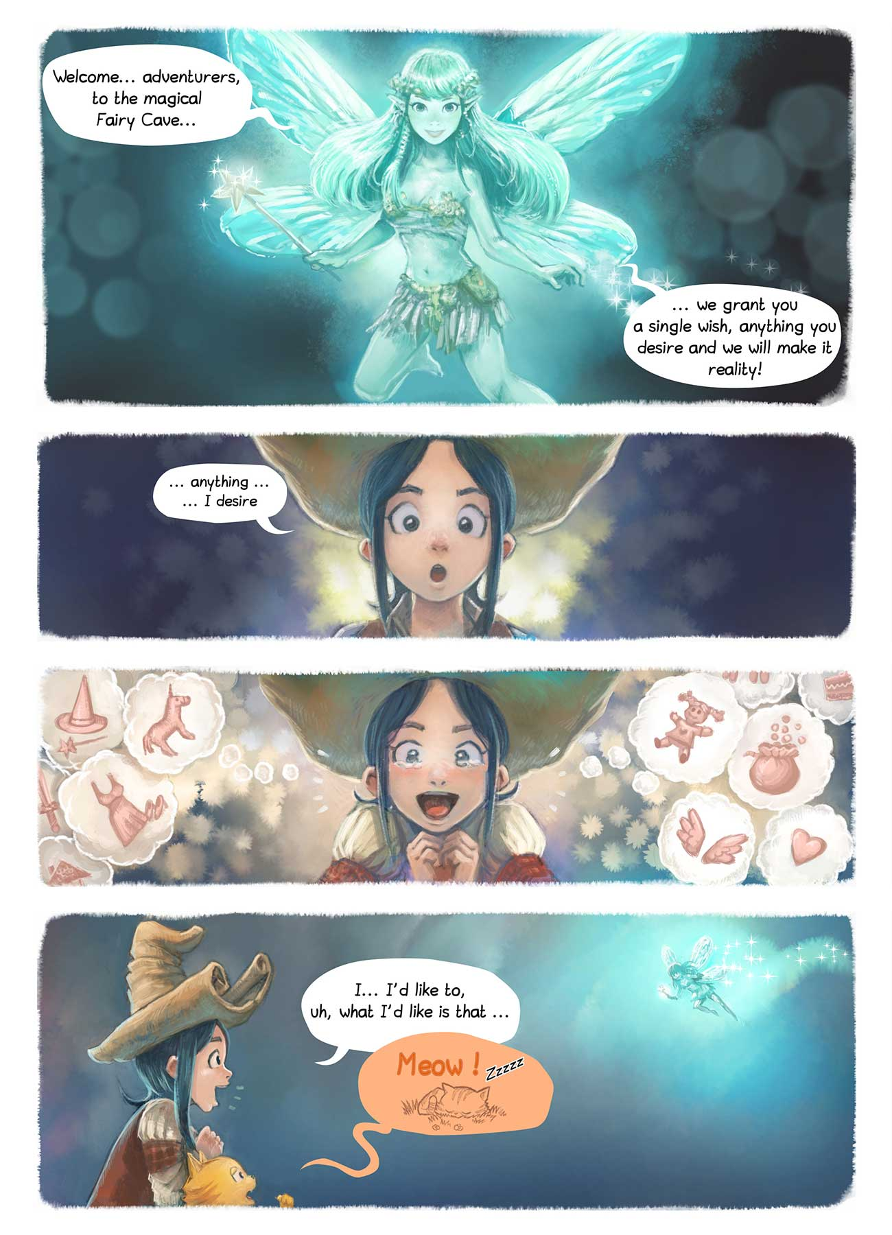 Free online comic Pepper and Carrot Episode 7 page 4