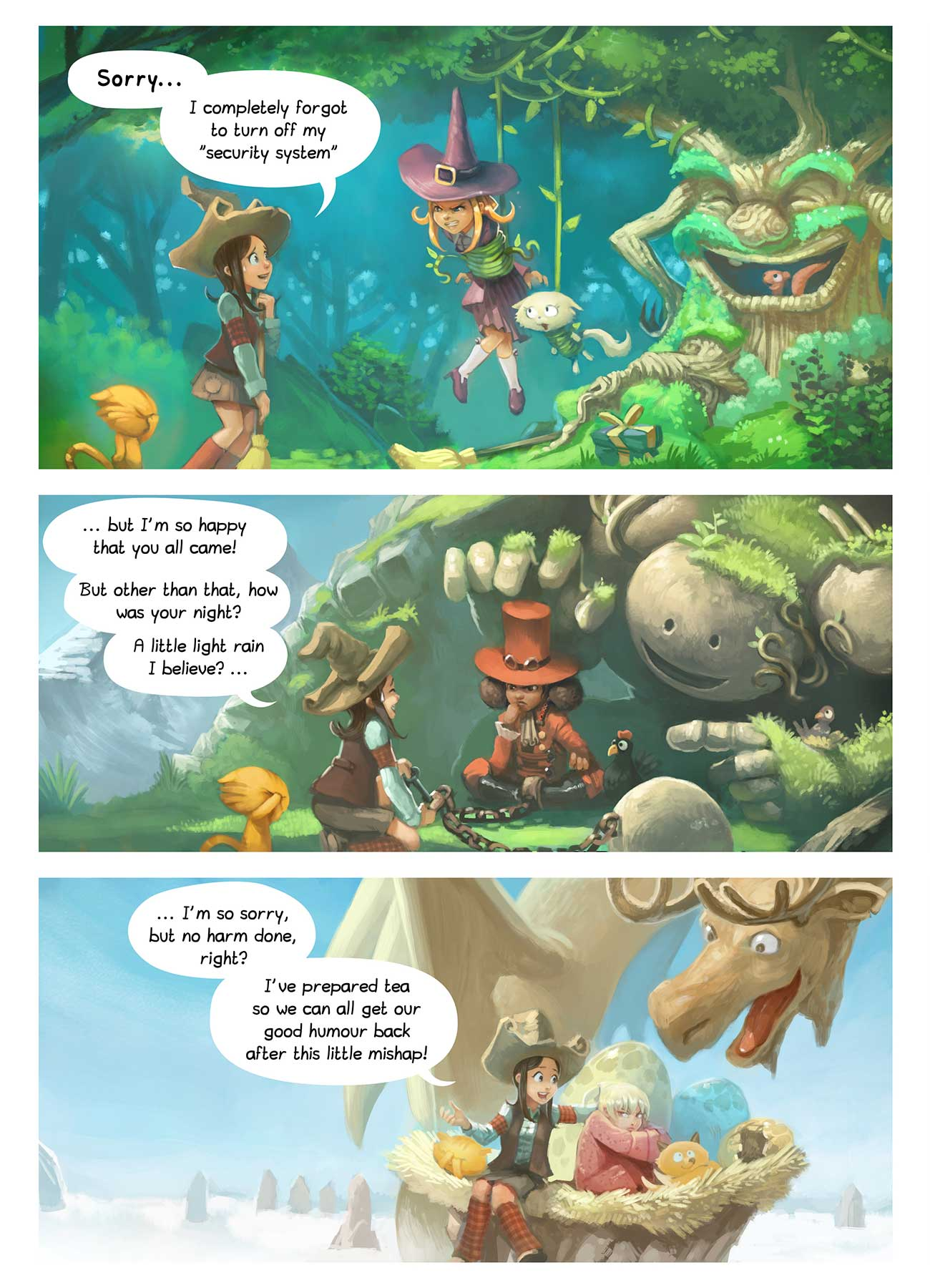 Free online comic Pepper and Carrot Episode 9 page 2
