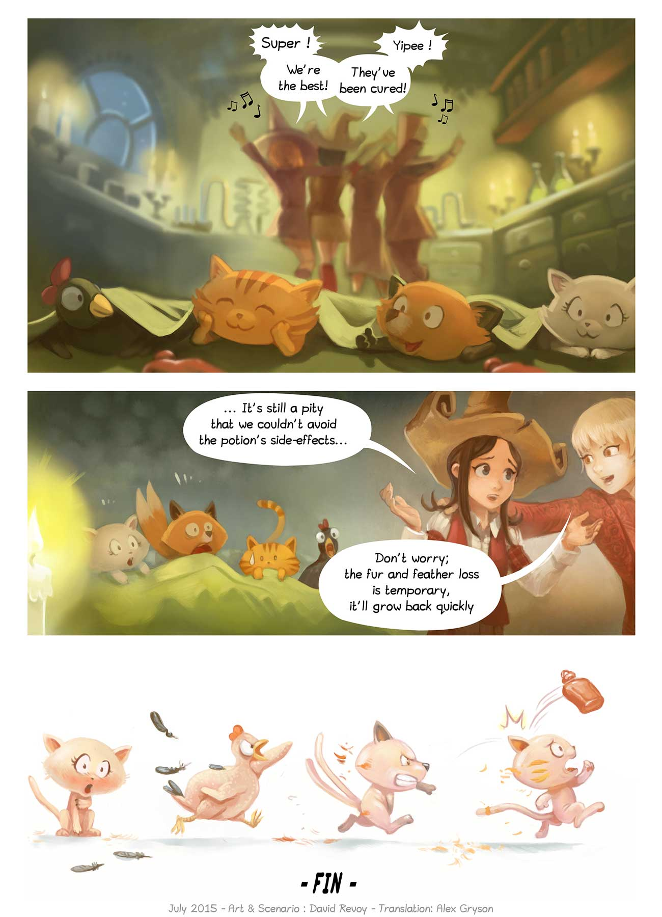 Free online comic Pepper and Carrot Episode 9 page 7