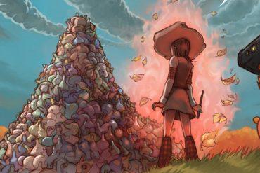 Free web comic Pepper and Carrot episode 12 header illustration