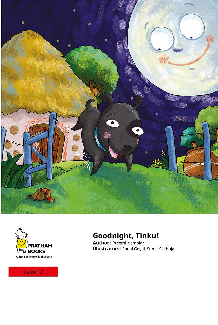 Goodnight Tinku free short stories for kids page 1