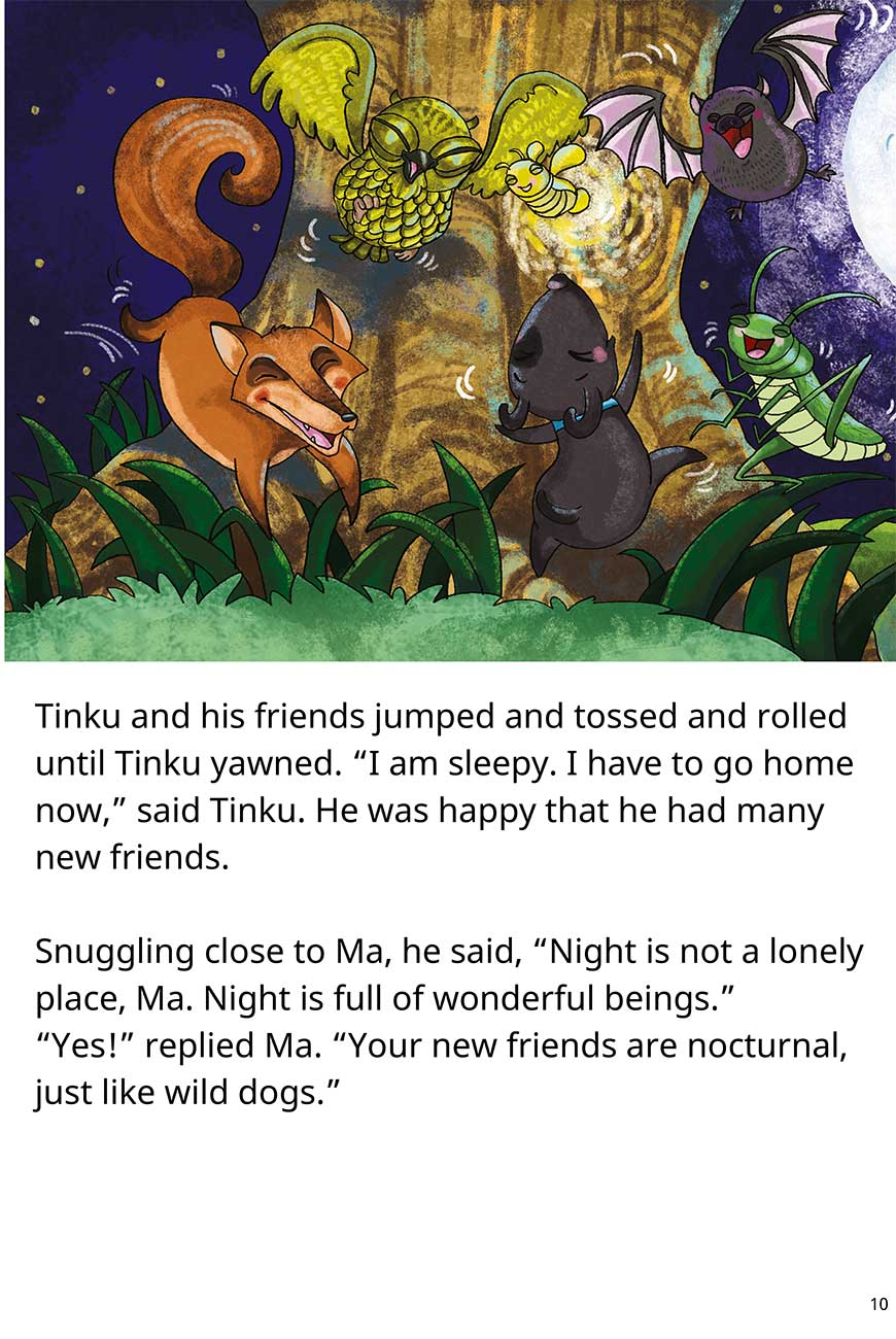 Goodnight Tinku free short stories for kids page 10