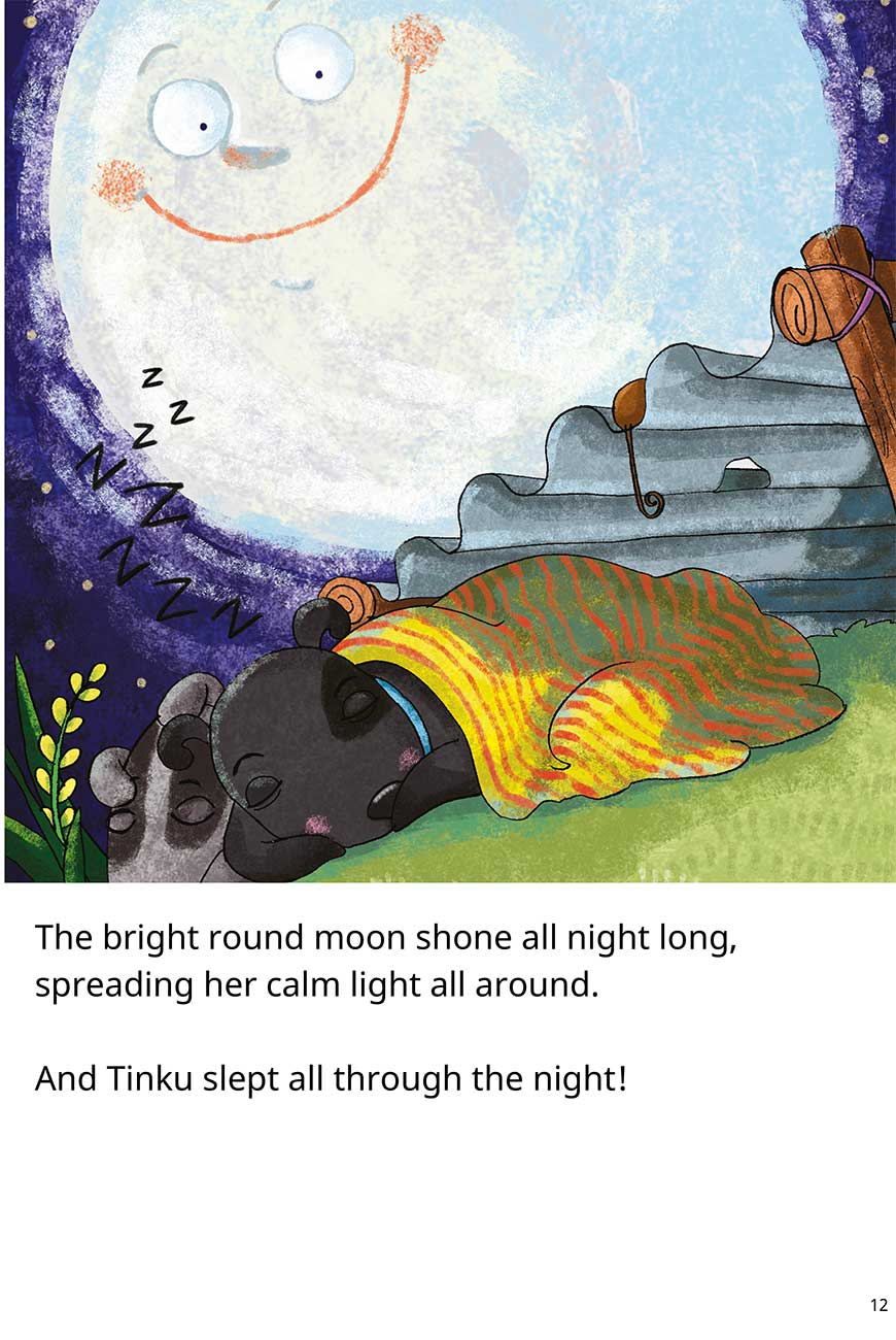 Goodnight Tinku free short stories for kids page 12