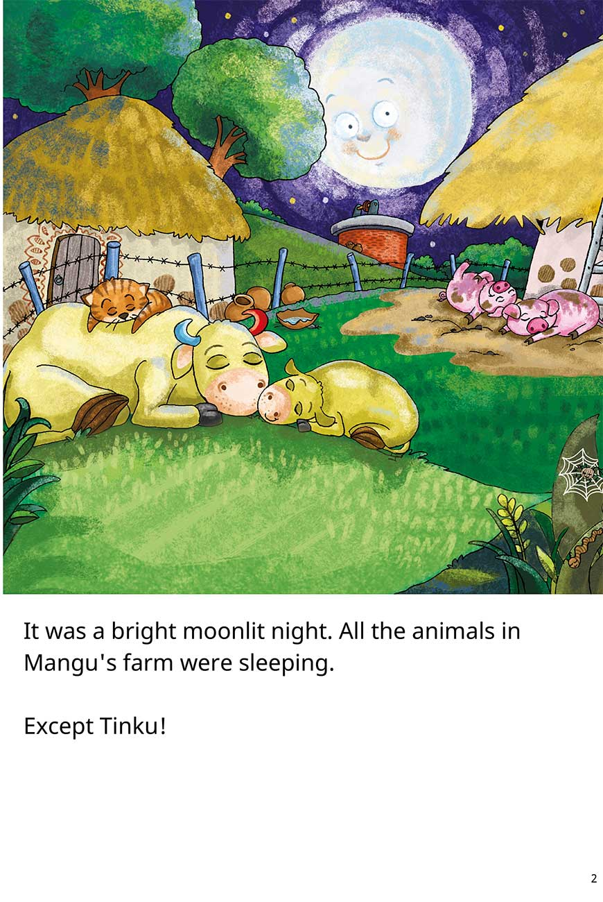 Goodnight Tinku free short stories for kids page 2