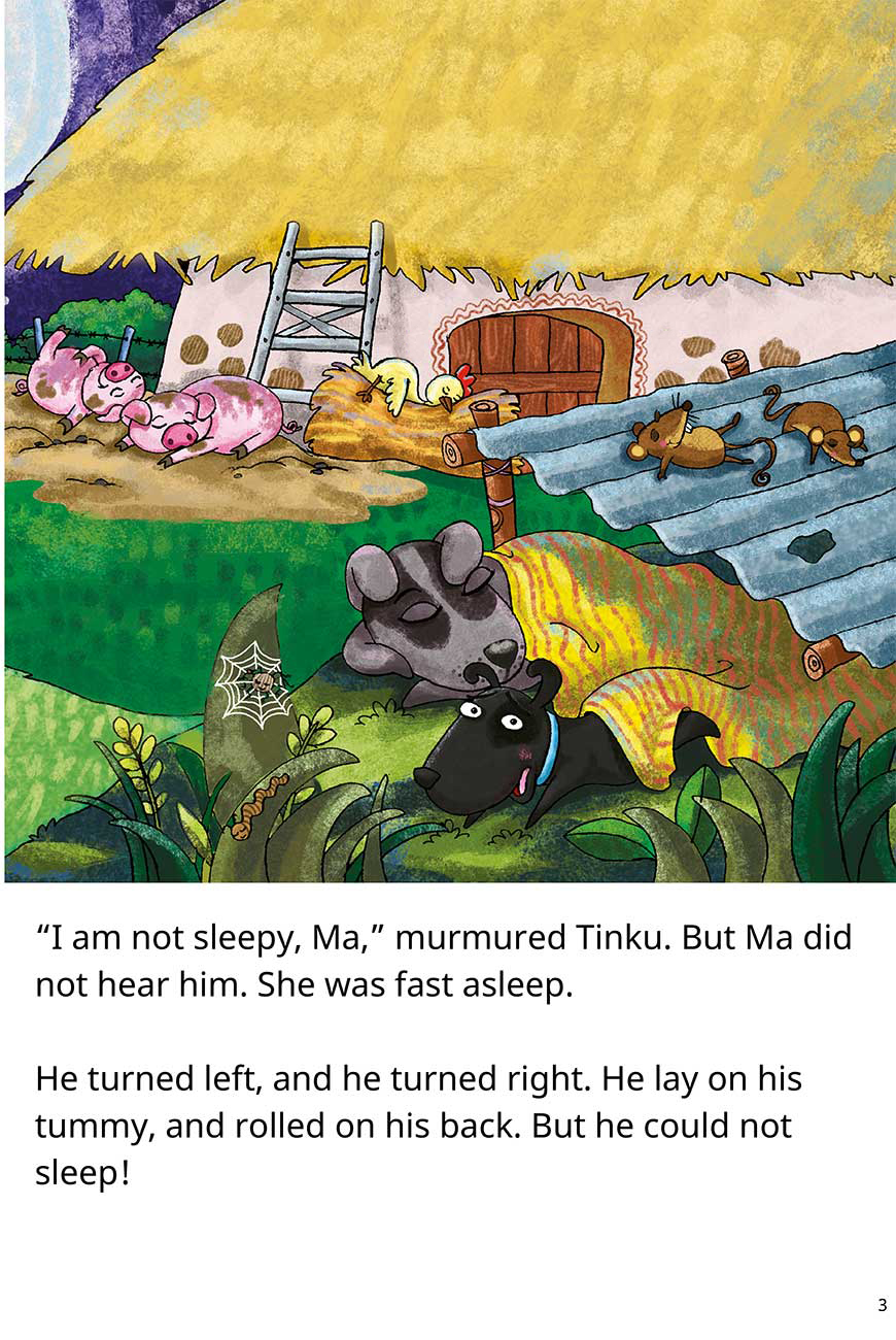 Goodnight Tinku free short stories for kids page 3