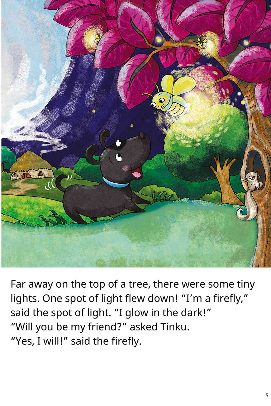 Goodnight Tinku free short stories for kids page 5