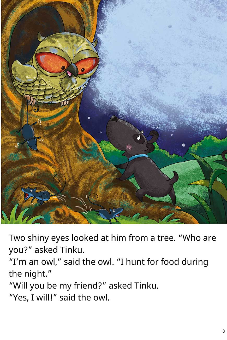 Goodnight Tinku free short stories for kids page 8
