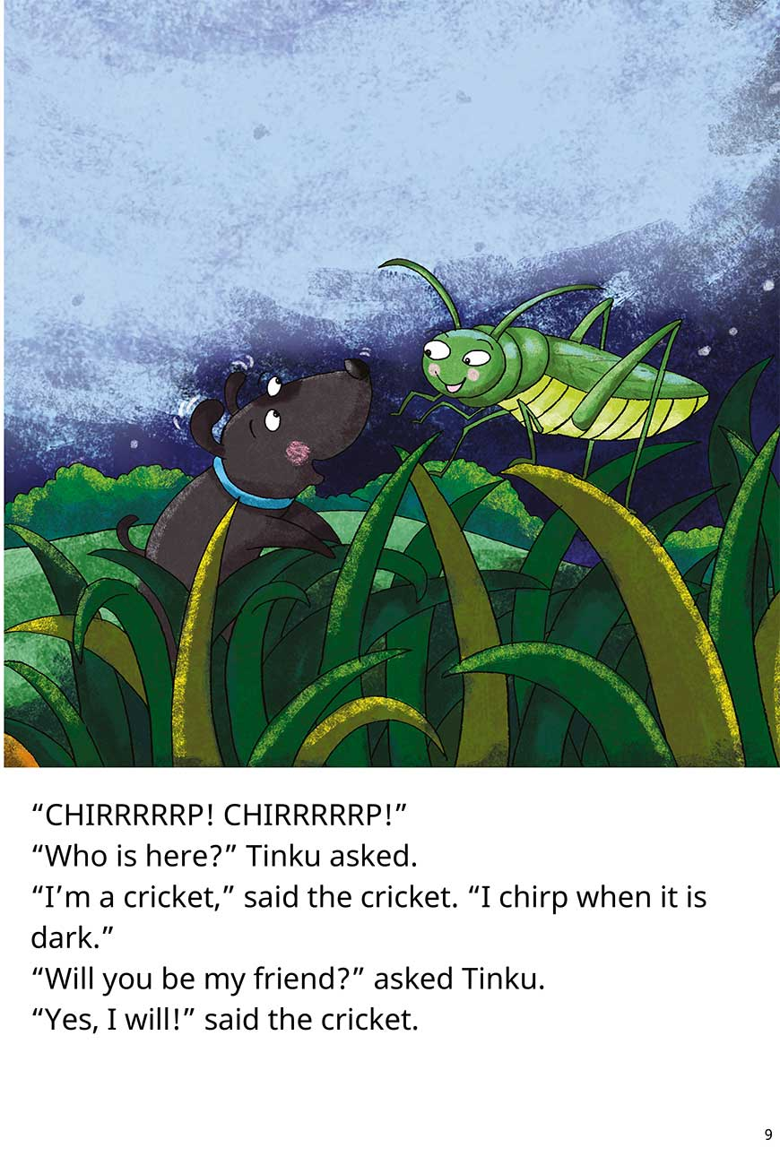 Goodnight Tinku free short stories for kids page 9