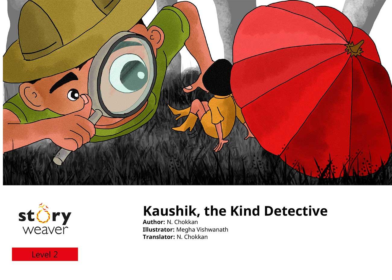 Kaushik the kind detective free kids short story page 1