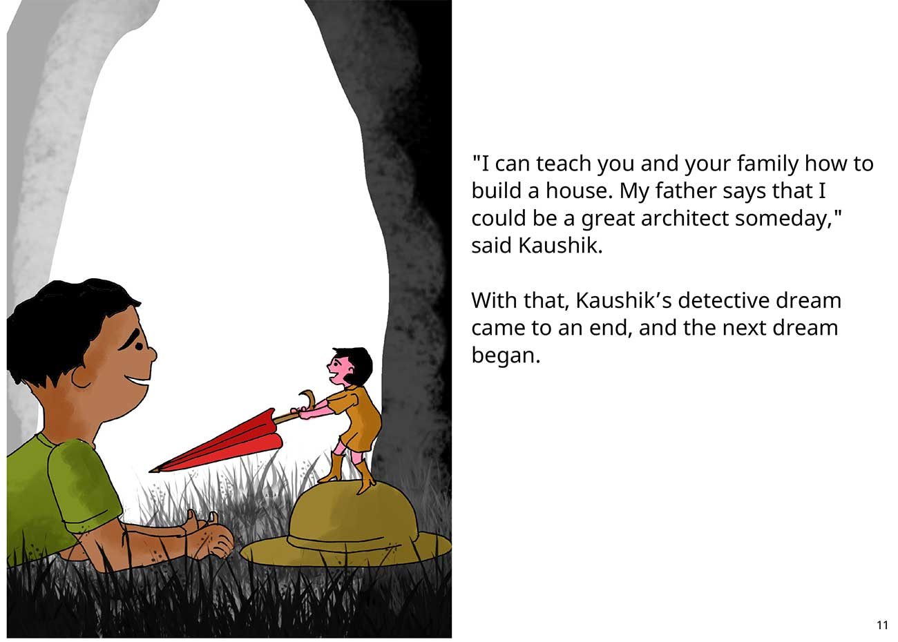 Kaushik the kind detective free kids short story page 11