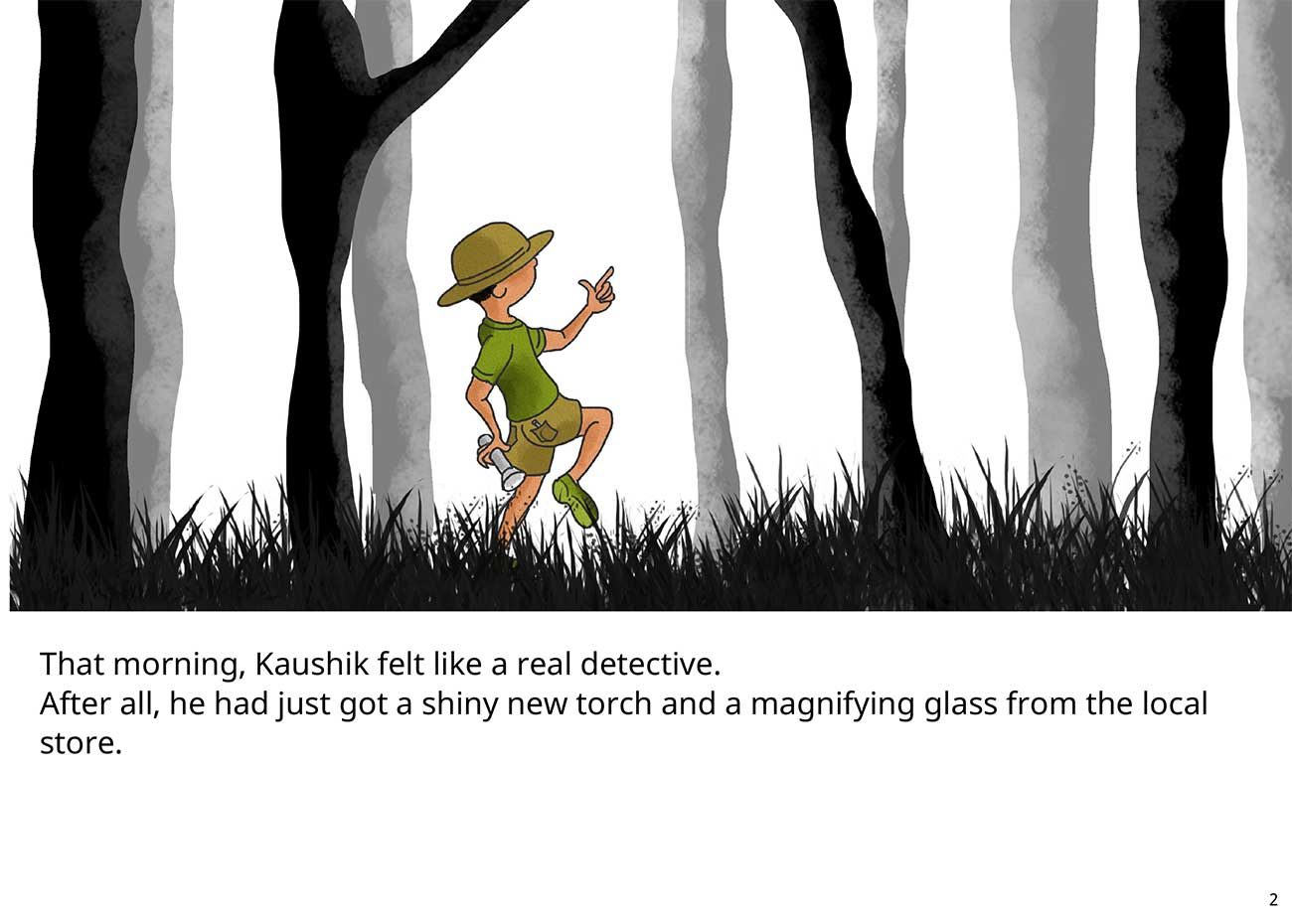 Kaushik the kind detective free kids short story page 2