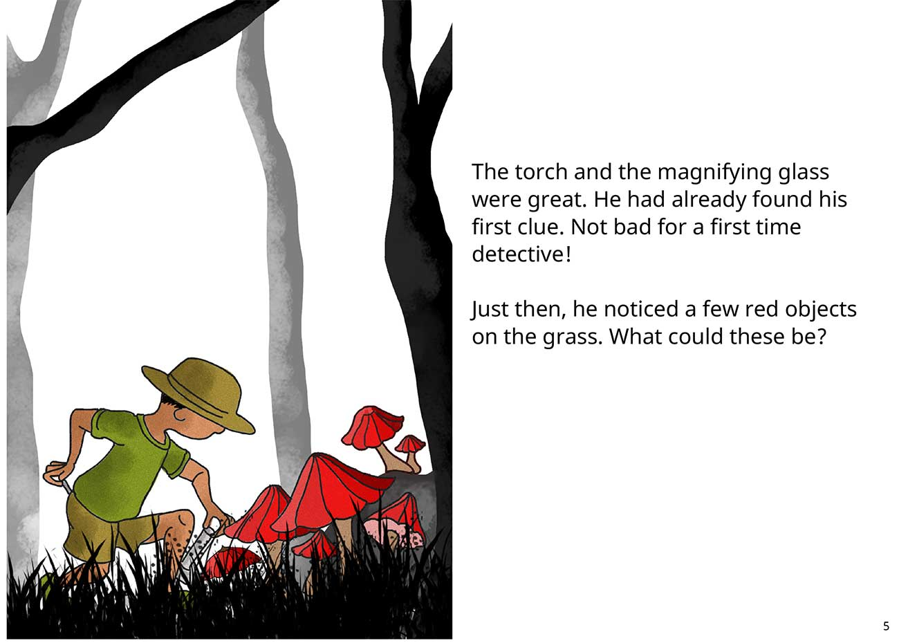 Kaushik the kind detective free kids short story page 5