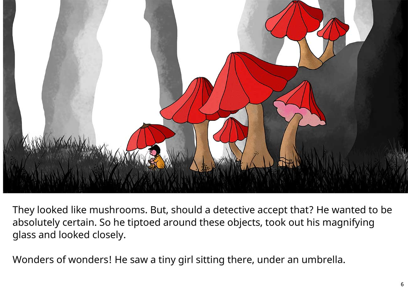 Kaushik the kind detective free kids short story page 6