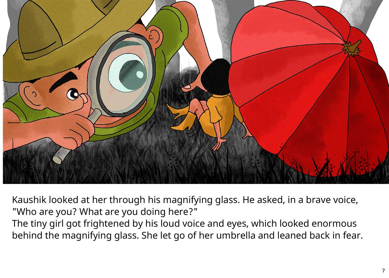 Kaushik the kind detective free kids short story page 7