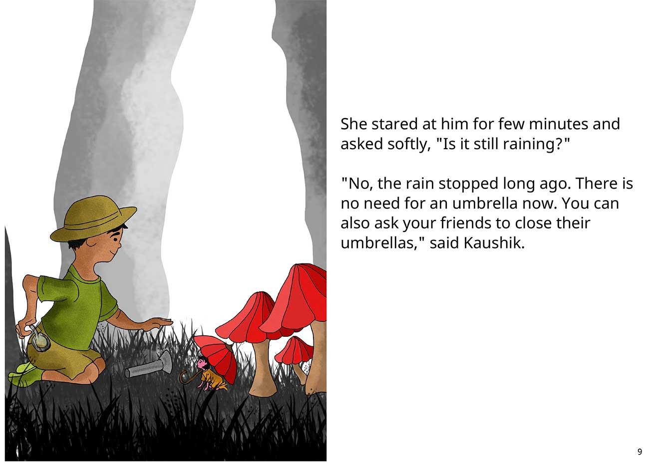 Kaushik the kind detective free kids short story page 9