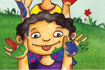 Little Painters free kids bedtime story header